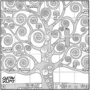 Klimt Tree Of Life Mural Group Art Projects Collaborative Art