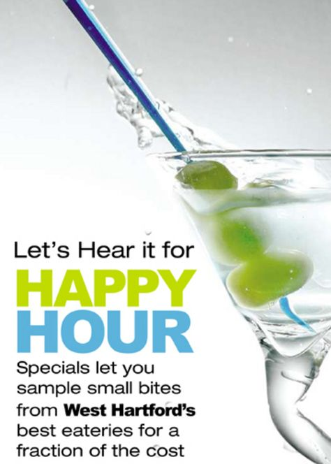 Happy Hour Walking Guide to West Hartford