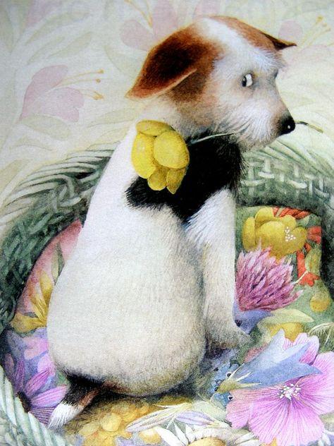 Saar, le chien de Vera la souris ~ Marjolein Bastin