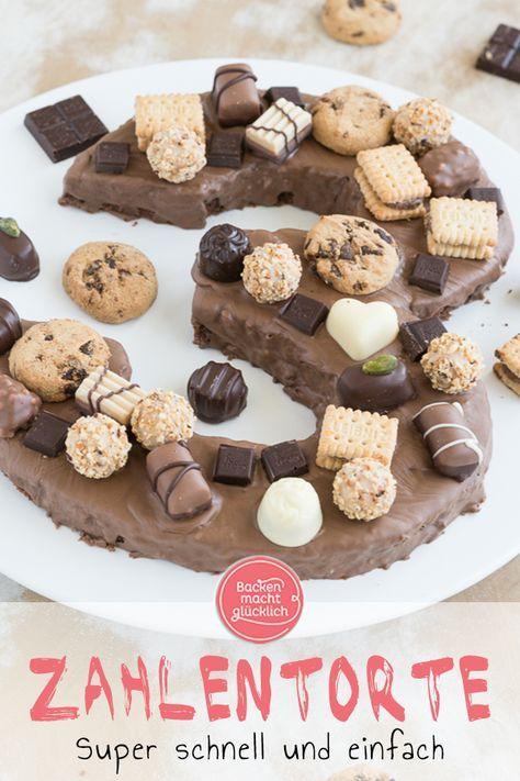 Geburtstags Zahlenkuchen Rezept Kuchen Rezepte Einfach Kuchen Und Kuchen Und Torten