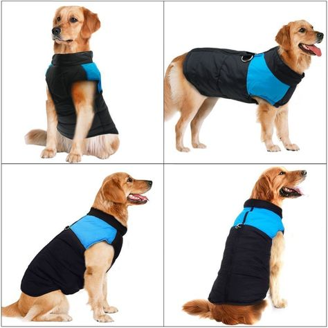 Item Features: 1. Waterproof Winter Dog Vest 2. Zipper design, easy on and off, Easy to clean and wash 3. Quilted Padded Puffer,Keep your dog warm and comfortable in cold weather 4. With a D-ring each side of the zipper, easily attach your dog's lead, convenient for walking your dog. 5. Leash made with high quality durable nylon, it is universal fit for most of dogs. 6. | eBay!