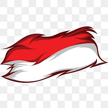 Indonesia Flag With Torn Ornaments On The Edges Bendera Indonesia Unik Png And Vector With Transparent Background For Free Download Indonesian Flag Banner Template Photoshop Indonesia Flag