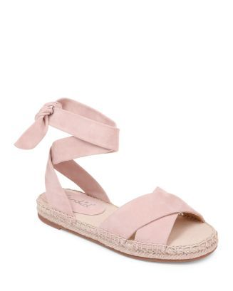 0dcf6db940f Women's Tereza Ankle Tie Espadrille Flats in 2019 | flat shoes ...