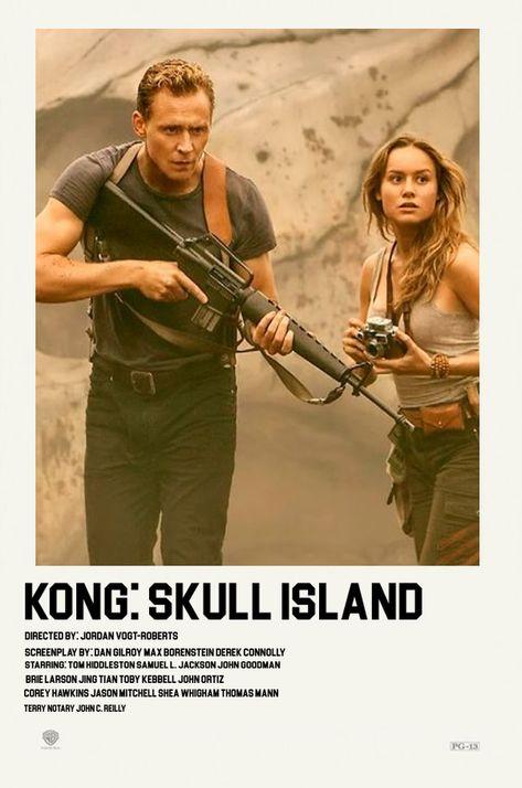kong skull island polaroid poster