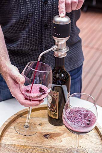 one-touch luxury wine aerator and dispenser Aervana Award winning wine gift!