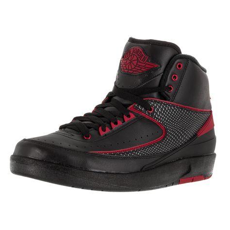 Nike Jordan Men's Air Jordan 2 Retro /Varsity Red Basketball Shoe