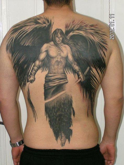 Anjos Guerreiros Pesquisa Google Tatuagem Anjo Tatuagem