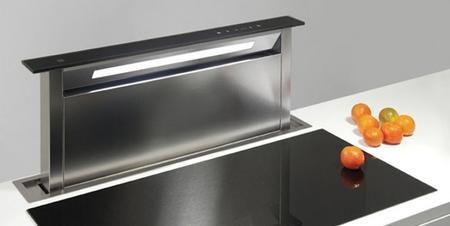 Sirius Sudd2ltc 36 Inch Ducted Downdraft Black Glass Design Glass