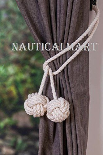 Nauticalmart Cotton Rope Tie Backs Rope Ties Curtain Tieb Https