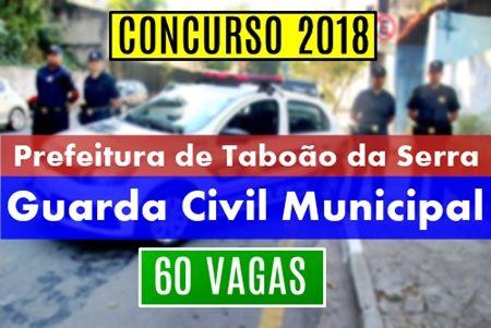 Concurso Guarda Civil Municipal Da Prefeitura De Taboao Da Serra