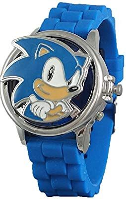 Amazon Com Sonic The Hedgehog Collector S Edition Spinner Watch Toys Games Sonic Sonic The Hedgehog Sonic Party