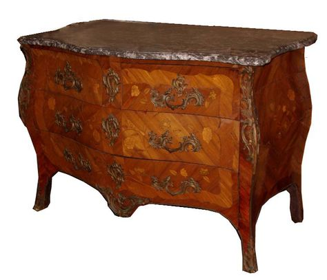 Louis Xv Antique Commode Table