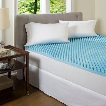 Comforpedic Beautyrest 2 Inch Textured Gel Memory Foam Mattress