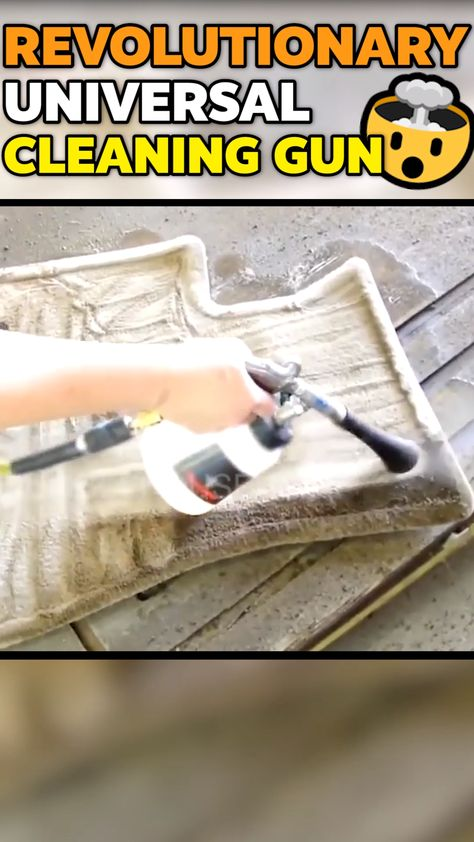 🔥50% OFF & FREE SHIPPING🔥  INSTANTLY SHRED THROUGH STAINS, DIRT, & GRIME! This High-Pressure Cleaning Gun makes interior detailing fast, easy and effective. Take on the most difficult detailing jobs with ease! The cone-shaped nozzle and vibrating tip create a tornado cleaning action that shreds through dirt and cleans hard and soft surfaces like never before!  Dirt, grease, and grime instantly release from fabrics, carpet, and solid surfaces fast & easy or your money back!