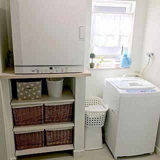 衣類乾燥機 横置き Google 検索 乾太くん ガス乾燥機 洗面所