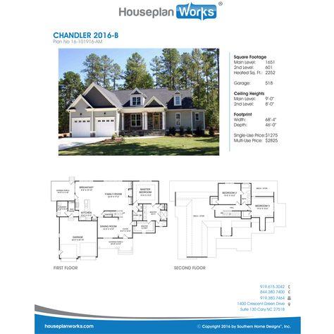 Chandler 2016 B Building Design House Plans Custom Home Plans