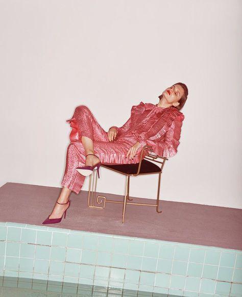 WSJ Magazine March 2017 Giedre Dukauskaitel by Lachlan Bailey | Fashion Editorials