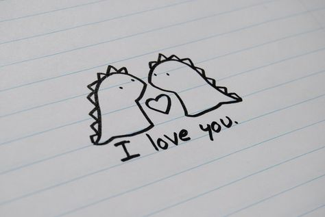 Rawr means 'I love you' in Dinosaur by ~olivia8383 on deviantART