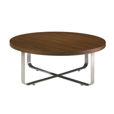 Allan Copley Designs Artesia 40 Inch Round Cocktail Table W Mocca