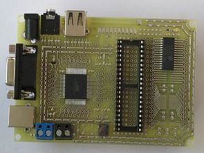 All In One Microcontroller Experiment Pcb