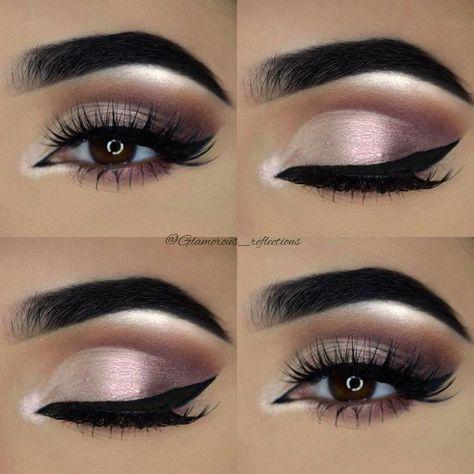 Wedding day makeup for brown eyes looking - #Eye #brown #fur #wedding time  #brown #looking #makeup #wedding