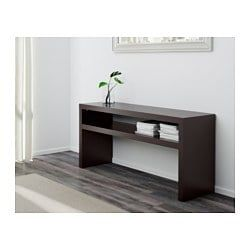 Ikea Lack Black Brown Console Table