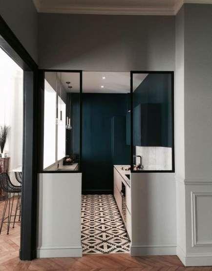 44 Ideas Kitchen Cabinets Black Modern Floors