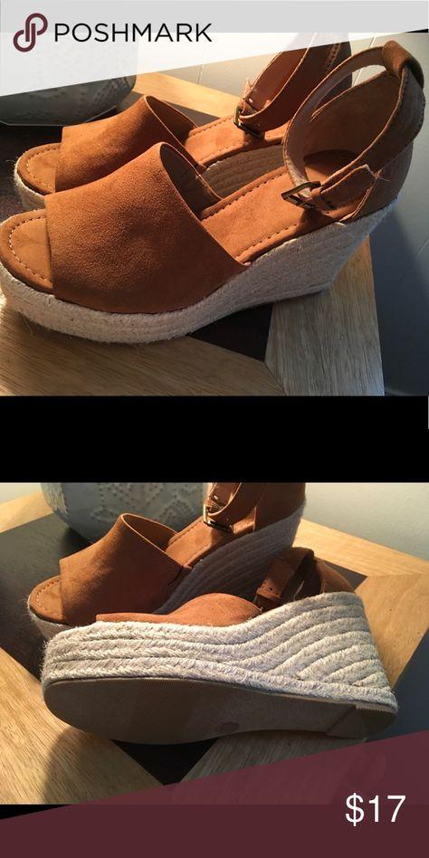 da98985750 Universal Thread Chestnut Espadrille Sandel Size 6 Elevate your ...