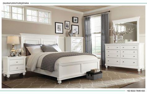 Kamar Set Minimalis Putih 1 Set Isi Kamar Tidur Jual Furniture
