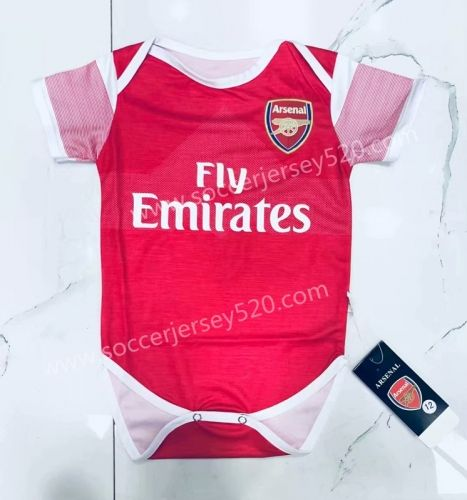 2018 19 Arsenal Home Red Baby Soccer Uniform