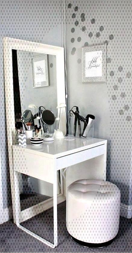 Bedrooms Makeup Vanity Ideas Desks Super Make Up 16 Makeup Vanity Ideas Bedrooms Make Up Desks 16 In 2020 Room Ideas Bedroom Makeup Room Decor Bedroom Vanity