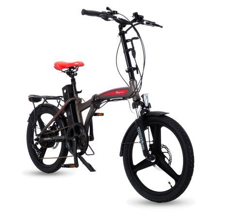 Magnos State Of The Art Folding Electric Bike Motor 250 W Range 20 30 Mi Folding Electric Bike Electric Bike Folding Bike