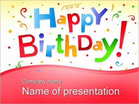 Create Effective Happy Birthday Ppt Presentation With Our Free Happy Birthday Powerpoint Templa Powerpoint Template Free Powerpoint Powerpoint Templates