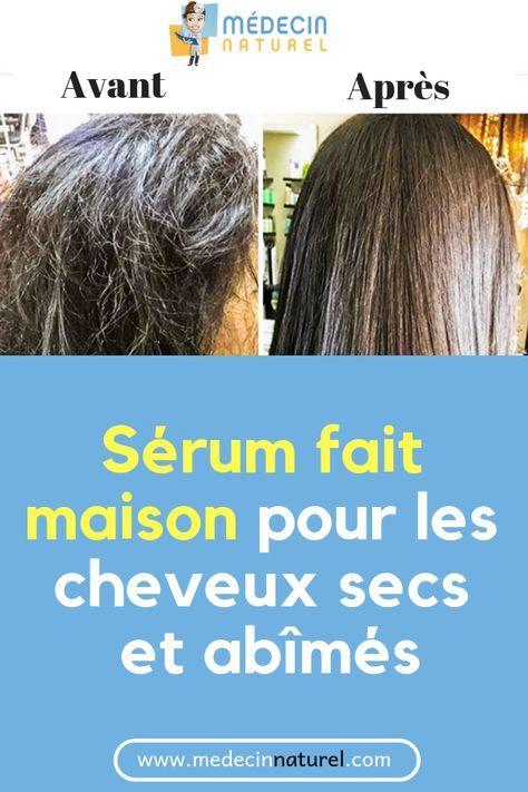 Voici Le Meilleur Serum Naturel Pour Traiter Rapidement Les Cheveux Secs Et Abimes Cheveux Sec Abimes Ser Hair Serum Keeping Hair Healthy Ogx Hair Products