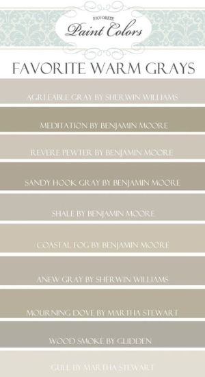 warm gray paint colors by nita