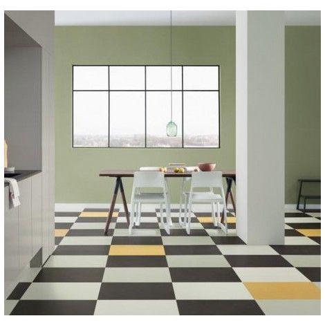 Linoleum Forbo Marmoleum Click Lemon Zest Dalle 30x30cm 333251 Linoleum Vloeren Zwevende Vloer Badkamer Vloertegels