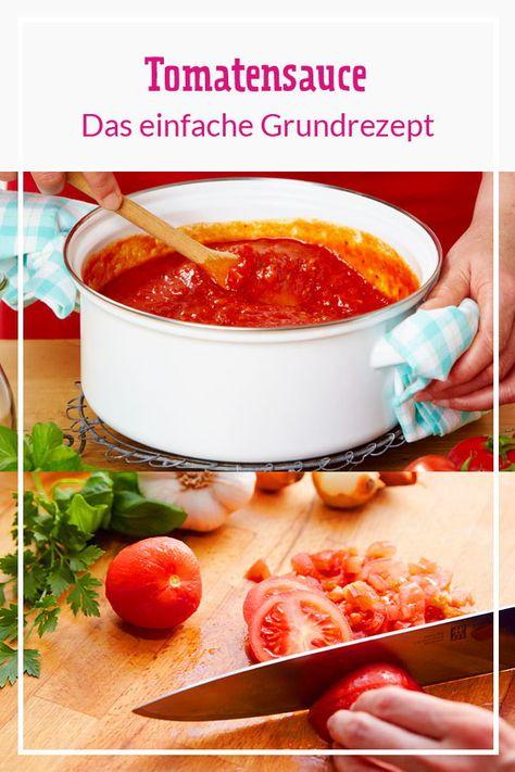 Von Juni bis August werden frische Tomaten geerntet - die beste Basis für selbst gekochte Tomatensauce. Mit unserem einfachen Grundrezept gelingt der Klassiker zu Nudeln und Pizza garantiert. So geht's!