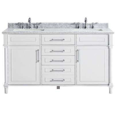 Home Decorators Collection Barcelona 73 In Double Vanity In White