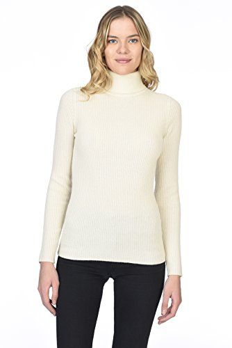 State Cashmere Women's 100% Pure Cashmere Long Sleeve Pul
