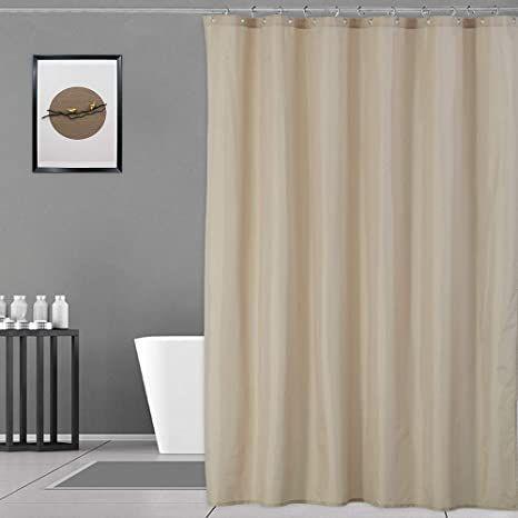 waterproof fabric shower curtain extra