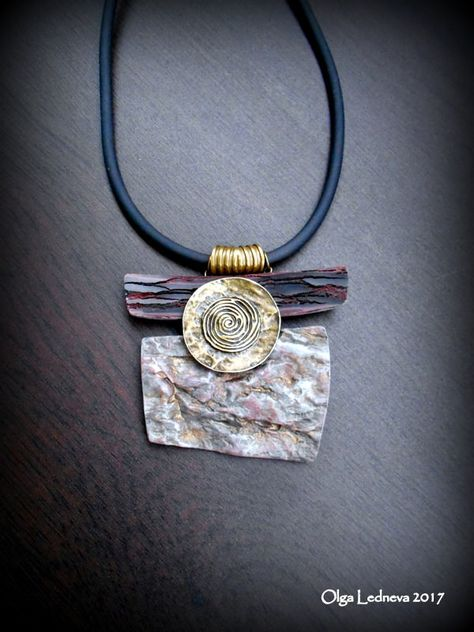 Silver Necklace With Bar
