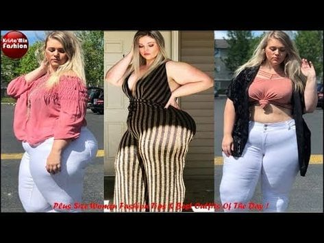 Plus Size Women Fashion Tips & Best Outfits Of The Day#24