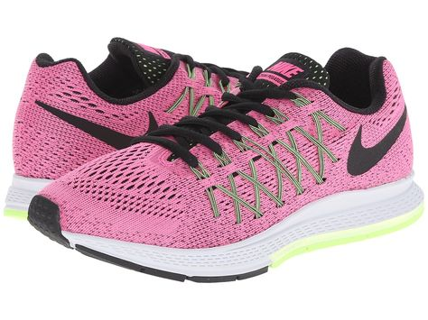 526abfa6fd97d NIKE NIKE - AIR ZOOM PEGASUS 32 (PINK POW BARELY VOLT GHOST GREEN BLACK)  WOMEN S RUNNING SHOES.  nike  shoes