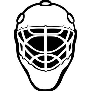 Goalie Mask Simple Hockey Mask Hockey Goalie Hockey Tournaments