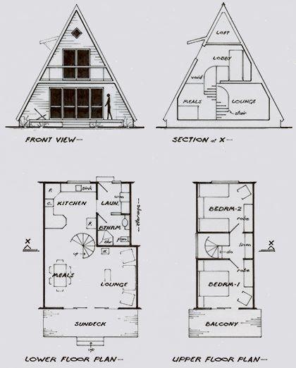 Plano De Cabana Alpina Home Decor Marecipe A Frame Cabin Plans Cottage Plan A Frame House Plans