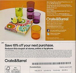 Crate And Barrel Flyer