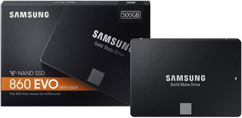 Samsung 860 Evo Ssd Review 250gb 500gb 1tb Evo Ssd Samsung