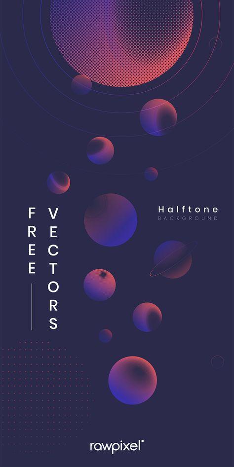 Free halftone vectors