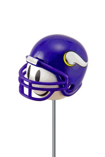 Minnesota Vikings Football Helmet Antenna Topper