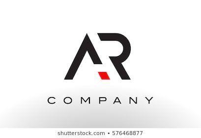 رسالة هارون الشعار صور والرسوم التوضيحية ar logo text design letter vektorgrafik in photoshop einfügen elefant vektor